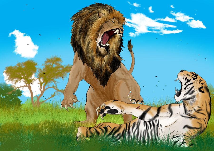 Harimau vs Singa, Siapa yang Menang? | POP NOW